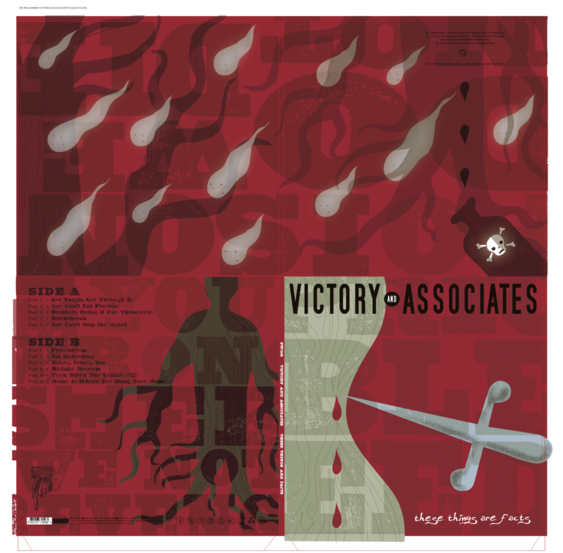 These Things Are Facts album art - Victory and Associates