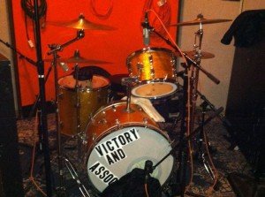 yes! there will be drums on this record.